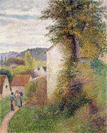 The Path, 1889 by Pissarro | Painting Reproduction