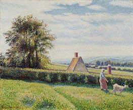 Spring Pasture, 1889 von Pissarro | Gemälde-Reproduktion