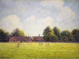 Hampton Court Green, 1891 von Pissarro | Gemälde-Reproduktion