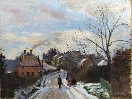 Fox Hill, Upper Norwood, 1870 von Pissarro | Gemälde-Reproduktion