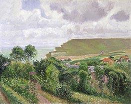 View of Berneval, 1900 von Pissarro | Gemälde-Reproduktion