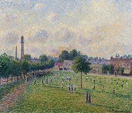 Kew Greens | Pissarro | Gemälde Reproduktion