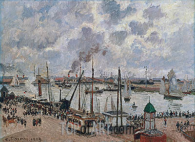 The Port of Le Havre, 1903 | Pissarro| Painting Reproduction
