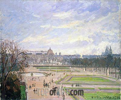 Pissarro | The Tuileries Gardens, 1900
