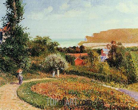 Pissarro | The Garden of the Hotel Berneval, 1900