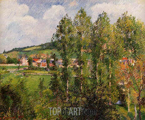 Pissarro | Gisors, New Section, 1885