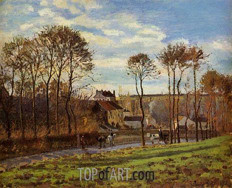 Pissarro | Pontoise, Les Mathurins (Former Convent), 1873