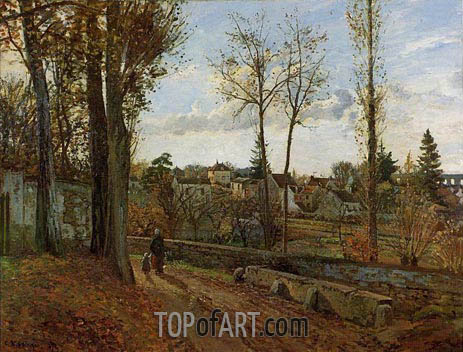 Louveciennes, 1871 | Pissarro | Painting Reproduction