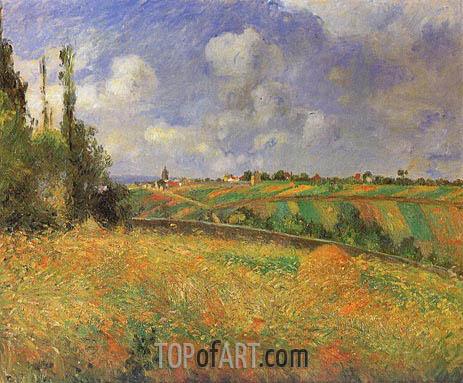 Pissarro | Rye Fields at Pontoise, 1877