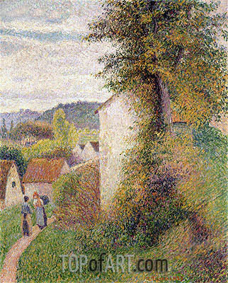 The Path, 1889 | Pissarro | Painting Reproduction
