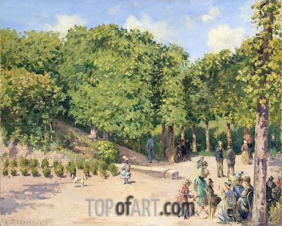 Pissarro | Town Park in Pontoise, 1873