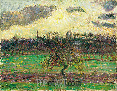 The Meadows at Eragny, Apple Tree, 1894 | Pissarro | Painting Reproduction