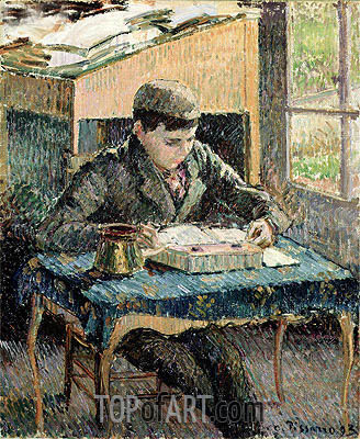 The Artist's Son, 1893 | Pissarro| Painting Reproduction