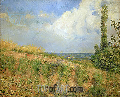 Approach of the Storm, 1890 | Pissarro | Painting Reproduction