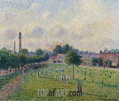 Kew Greens, 1892 | Pissarro| Painting Reproduction
