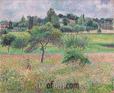 Apples in Eragny, 1894 | Pissarro| Painting Reproduction