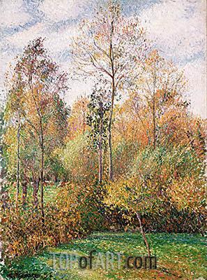 Autumn, Poplars, Eragny, 1894   Pissarro   Painting Reproduction