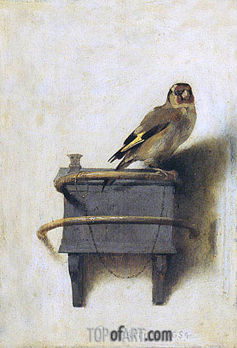 Carel Fabritius | The Goldfinch, 1654