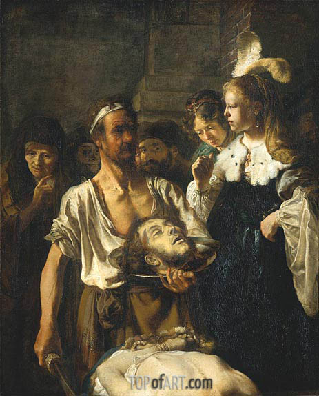 The Beheading of Saint John the Baptist, c.1640 | Carel Fabritius | Painting Reproduction