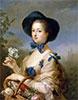 The Marquise de Pompadour as Gardener, c.1754/55 | Charles-Andre van Loo