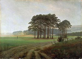 Midday, c.1820/25 by Caspar David Friedrich | Painting Reproduction