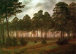 Evening, c.1820/26 by Caspar David Friedrich | Painting Reproduction