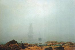 Mist, 1807 by Caspar David Friedrich | Painting Reproduction