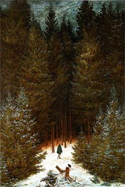 The Chasseur in the Woods | Caspar David Friedrich | Painting Reproduction