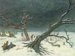 Winter Landscape | Caspar David Friedrich | outdated