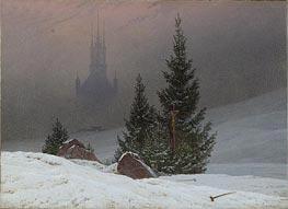 Winter Landscape with Church | Caspar David Friedrich | outdated
