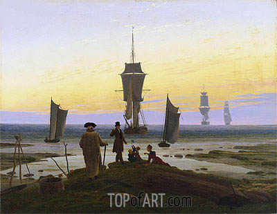 The Stages of Life (Lebensstufen), c.1835 | Caspar David Friedrich | Gemälde Reproduktion