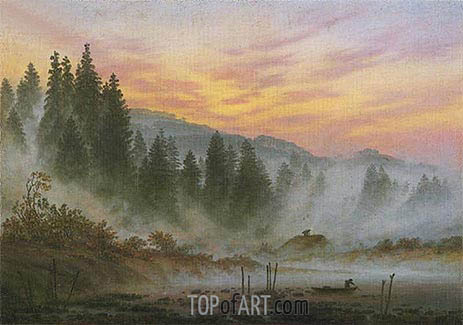 Morning, 1821 | Caspar David Friedrich | Painting Reproduction