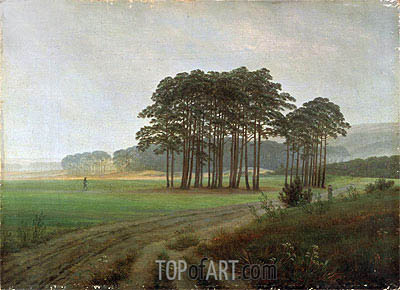 Midday, c.1820/25 | Caspar David Friedrich| Painting Reproduction