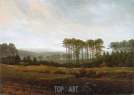 Caspar David Friedrich | Afternoon, 1822