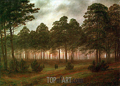 Evening, c.1820/26 | Caspar David Friedrich| Painting Reproduction