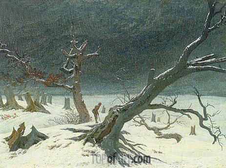 Winter Landscape, 1811 | Caspar David Friedrich | Painting Reproduction