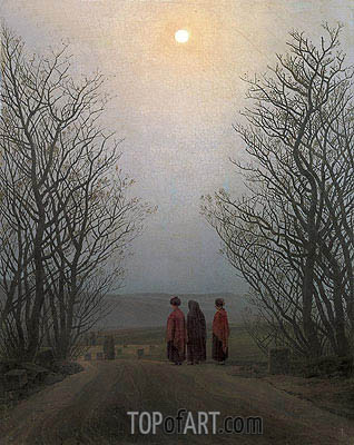 Easter Morning, 1833 | Caspar David Friedrich | Painting Reproduction