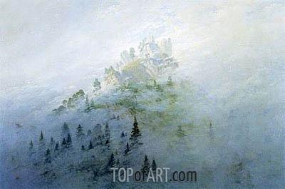 Caspar David Friedrich | Morgennebel im Gebirge, 1808