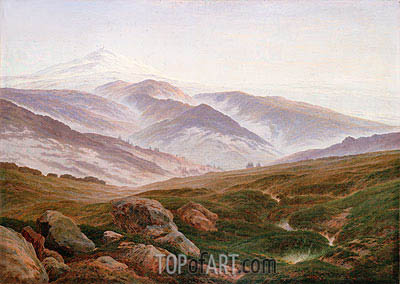 Riesengebirge (Memories of the Riesengebirge), 1835 | Caspar David Friedrich| Painting Reproduction