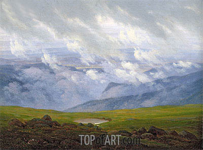 Drifting Clouds, c.1820 | Caspar David Friedrich | Painting Reproduction