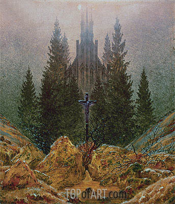 The Cross in the Mountains, 1812 | Caspar David Friedrich | Painting Reproduction