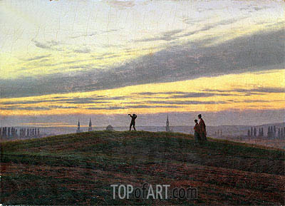 The Evening Star, c.1830/35 | Caspar David Friedrich| Painting Reproduction