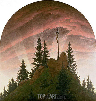 The Cross in the Mountains, 1808 | Caspar David Friedrich| Painting Reproduction