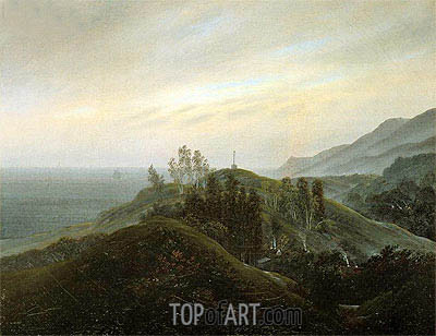 View of the Baltic, c.1820/25 | Caspar David Friedrich | Painting Reproduction