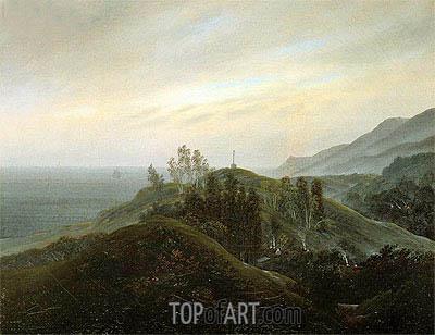 Caspar David Friedrich | View of the Baltic, c.1820/25