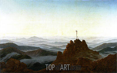 Morning in the Riesengebirge, c.1810/11 | Caspar David Friedrich | Painting Reproduction