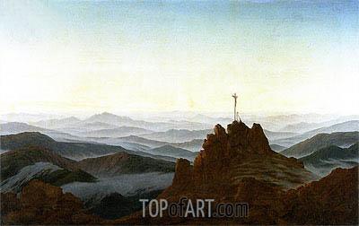 Caspar David Friedrich | Morning in the Riesengebirge, c.1810/11