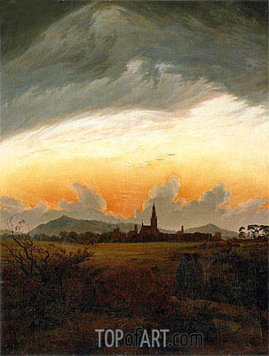 Neubrandenburg, c.1817 | Caspar David Friedrich| Painting Reproduction