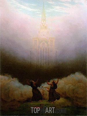 Vision of the Christian Church, c.1820 | Caspar David Friedrich | Painting Reproduction