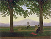 Garden Terrace | Caspar David Friedrich